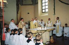 Konsekrácia rímsko-katolíckeho   chrámu sv. Šimona a Judu