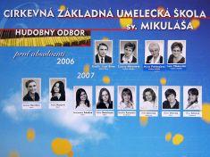 Cirkevná základná umelecká škola   sv. Mikuláša 2007