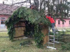Vianočný Betlehem - výstavba