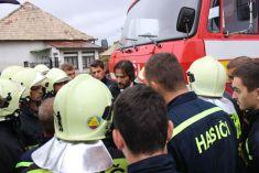Odovzdanie hasičského auta 2015