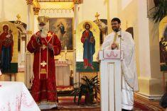 Mikuláš v grécko-katolíckom kostole 2015