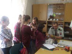 Junior redaktori na obvodnom oddelení PZ v Drienove