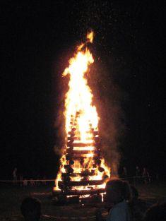 72. výročie SNP - vatra