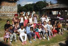 Opekačka v rómskej osade