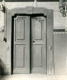 Rímskokatolícky kostol sv.Šimona aJúdu - autor: neznámy, rok 1955, základný výskum sign. Z1508 - Drienov - 5099_1, Archív PÚ SR.