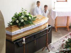 Pohreb MUDr. Antona Sabola 2011
